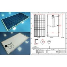 Straßen-Gebäude-Sonnenkollektor PV-Modul 36V 290W 295W 300W 305W mit Ce FCC genehmigt