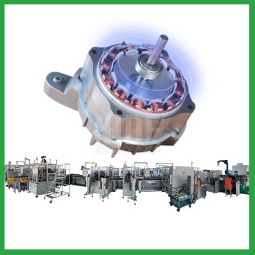 Automatic motor production assembly line