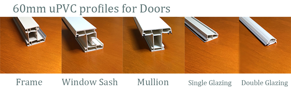 uPVC Profiles for Doors