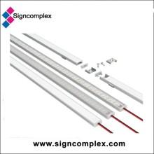 Barra clara do perfil do alumínio do diodo emissor de luz (SC-ALH-01AS)