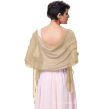 Kate Kasin Stock Chiffon Bridal Evening Dress Shawls Scarves Scarf Wrap Neckerchief KK000229-10