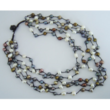 New Design Pearl Necklace (NP167)