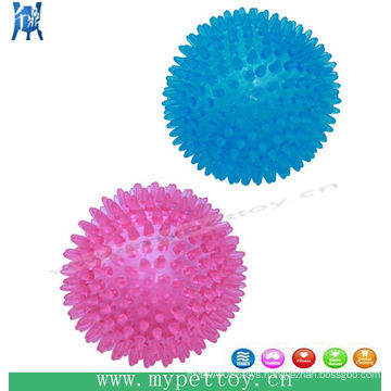 Pets Spike Ball Squeaky Dog Toy