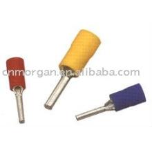 Insulated pin terminal lugs