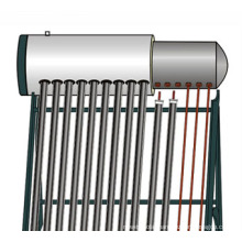 Pressurized Solar Water Heater With Plastic Spraying Coating (SPP)