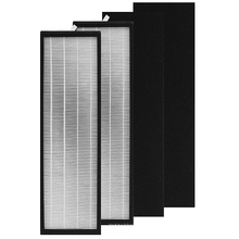 True Air Purifier Filtros Hepa and Carbon Pre Filter Compatible with Alen T500 Tower Air Purifier