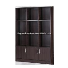 Gabinete de archivo de madera con puerta, estante de libro