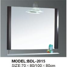 Espelho de vidro do banheiro da prata da espessura de 5mm (BDL-2015)