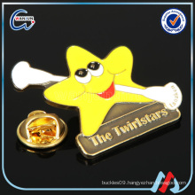 2016 New style smiley custom made pin metal promotional badge