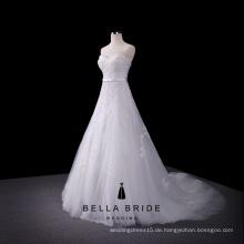 Einfache eine Linie Boho Brautkleid Braut Spitze Dressing Kleid sexy Brautkleider Bilder