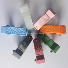 Pulseras portátiles desinfectantes de silicona para limpieza de manos