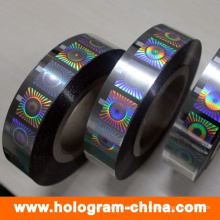Antifälschungs-Hologramm-Heißfolienprägen