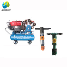 W-3.0/5 diesel portable piston air compressor for mining