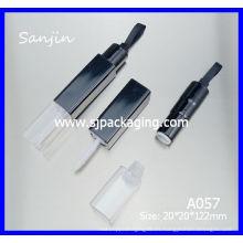 Labio labios tubos de labios tubo de brillo de labios de embalaje Envases de cosméticos de doble contenedores