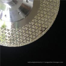 prix du fabricant plaqué diamant lame de scie lame de marbre