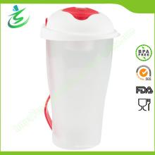 Alimentos de grado BPA libre de ensalada al por mayor Shaker