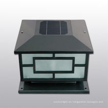 valla solar por mayor post poste de luz, solar cap cerca de luz solar, luz post tapa