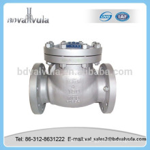 swing type stainless steel check valve