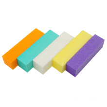 Professional wholesale 4 side sponge buffer manufacturer sanding block nail file
