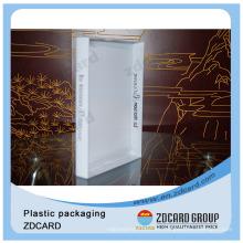 Taza de té personalizada que empaqueta la caja de empaquetado clara de las cajas plásticas