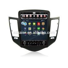 Lecteur multimédia de voiture CHEVROLET-CRUZE avec écran vertical 1024 * 768