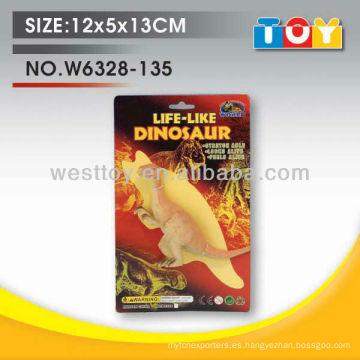 Dinosaurio animal suave de TPR de la alta calidad con todo el informe de la prueba
