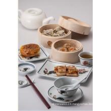 Melamine Traditional Designtableware/Melamine Plate (4104)
