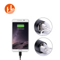 3 режима Zoom USB аккумуляторная T6 светодиодный фонарик