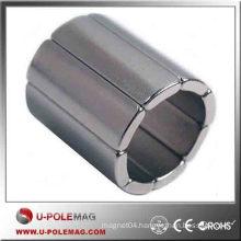 Buy N50 Axial D50X10MM Neodymium Arc Magnet Supplier China