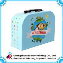 OEM изготовленный на заказ картона упаковывая чемодан печатная фабрика из Китая