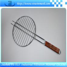 Malla de alambre de barbacoa de acero inoxidable utilizada para picnic