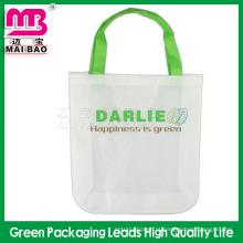 Impermeável e lavável novo material de tecido não tecido barato sacos por atacado