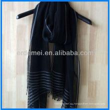 Весенний шарф, Хлопковый шарф, Пряжа окрашенный шарф