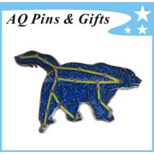Insignia del recuerdo del emblema del metal del precio de fábrica como regalo promocional (insignia-012)