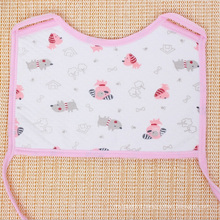Soft Cotton Lovely Printed Square Baby Bib