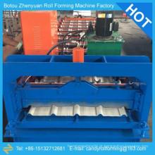 Máquina de chapa de telhas onduladas de aço colorido, chapa de aço colorido, máquina de moldagem de chapa de aço, chapa de aço colorido formando máquina