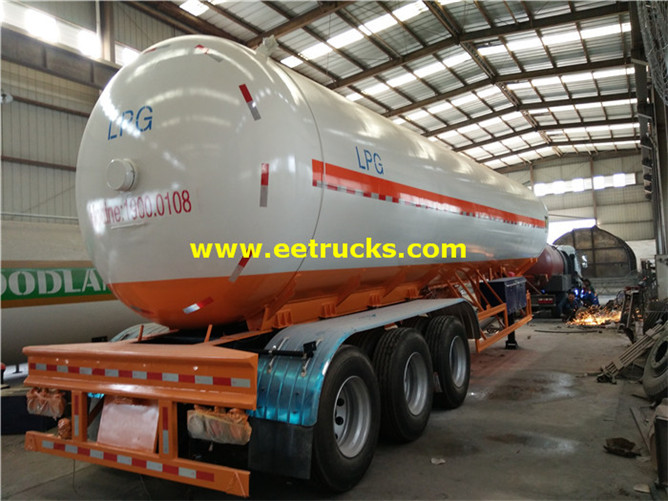 LPG Delivery Tank Trailer