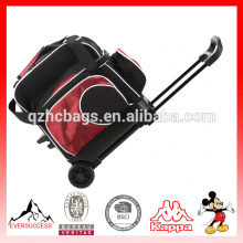 Sacola de boliche de alta qualidade Sacola de boliche com rodas