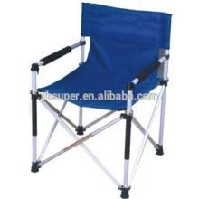 Folding aluminium portable chair for director