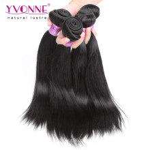 Großhandelsnatürliches gerades malaysisches Jungfrau-Haar