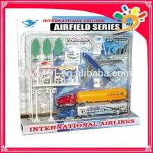 Gut verkauft sterben gegossen Spielzeug Flughafen für Kinder gesetzt
