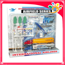 good selling die cast toy airport set for children