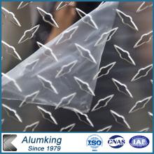 Plaque en aluminium à l'écaillage d'orange pour le paquet
