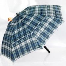Überprüfen Sie aus Polyester Double-Layer-Golfschirm (YS-G1008A)