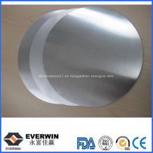 Círculo redondo de aluminio 1050 O