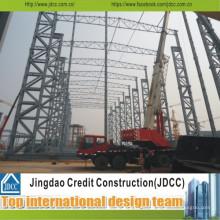 Fácil transporte e instalación, nuevas estructuras de acero modernas