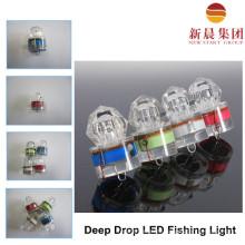 Bajo agua luz de pesca