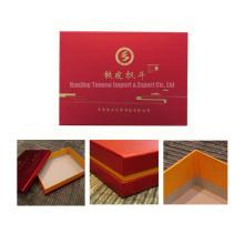 Velvet Insert Custom Cardboard Boîte cadeau pour aliments, bijoux, cosmétiques
