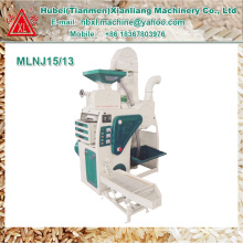 Preço compacto das maquinaria do moinho de arroz do agregado familiar