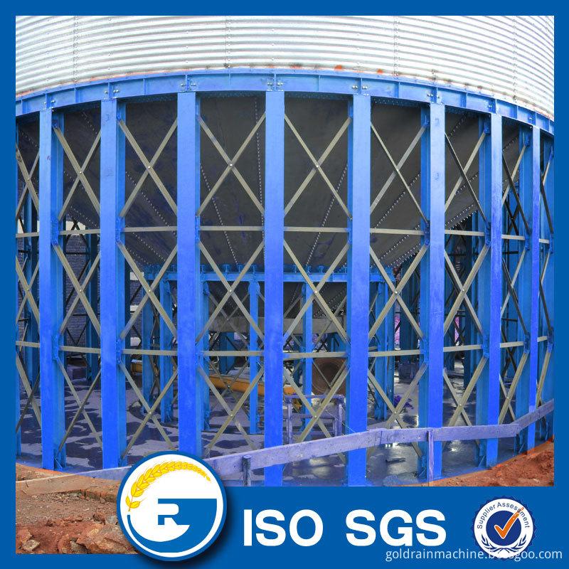 hopper bottom conical silo